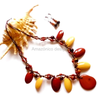 Tagua fragmento natural